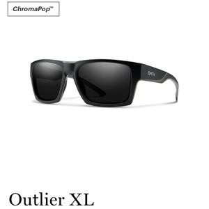 Nwt SMITH Optics Outlier XL Black sunglasses